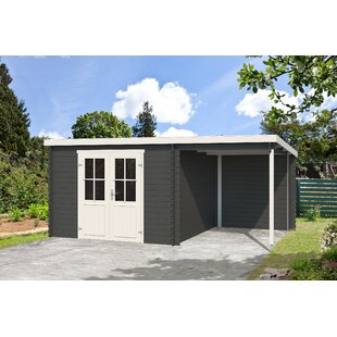 Willman 16 X 10 Ft. Tongue & Groove Summer House By Sol 72 Outdoor