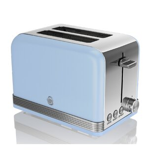2 Slice Swan Retro Toaster