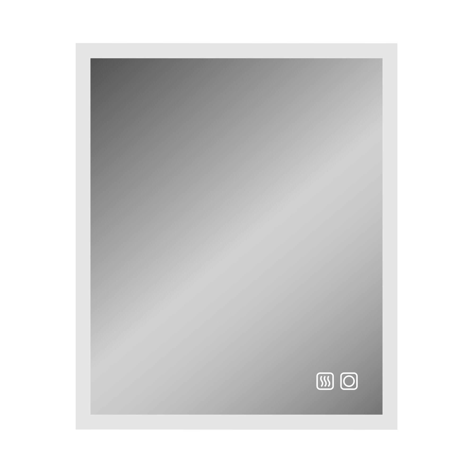 Boyel Living Led Aesthetic Lighted Bathroom Vanity Mirror Wayfair