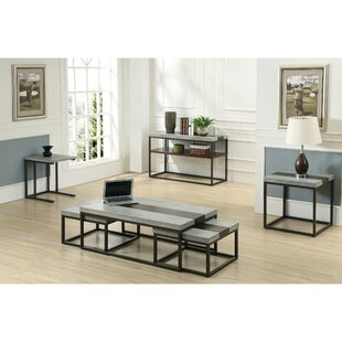 17 Stories Cleavenger 6 Piece Coffee Table Set