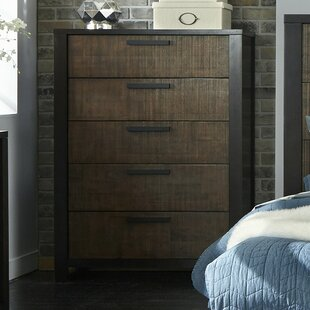 Laurel Foundry Modern Farmhouse Arrie 5 Drawer Chest Image