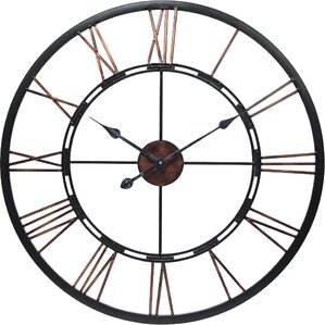 dorosey round oversized wall clock