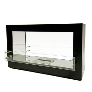 Argento Double Sided Ethanol Fireplace by BioFlame