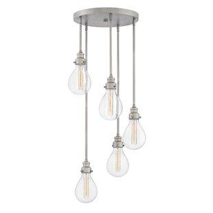 Denton 5 Light Cascade Pendant by Hinkley Lighting