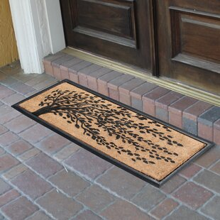 Charmant Berenice Falling Leaves Molded Double Doormat