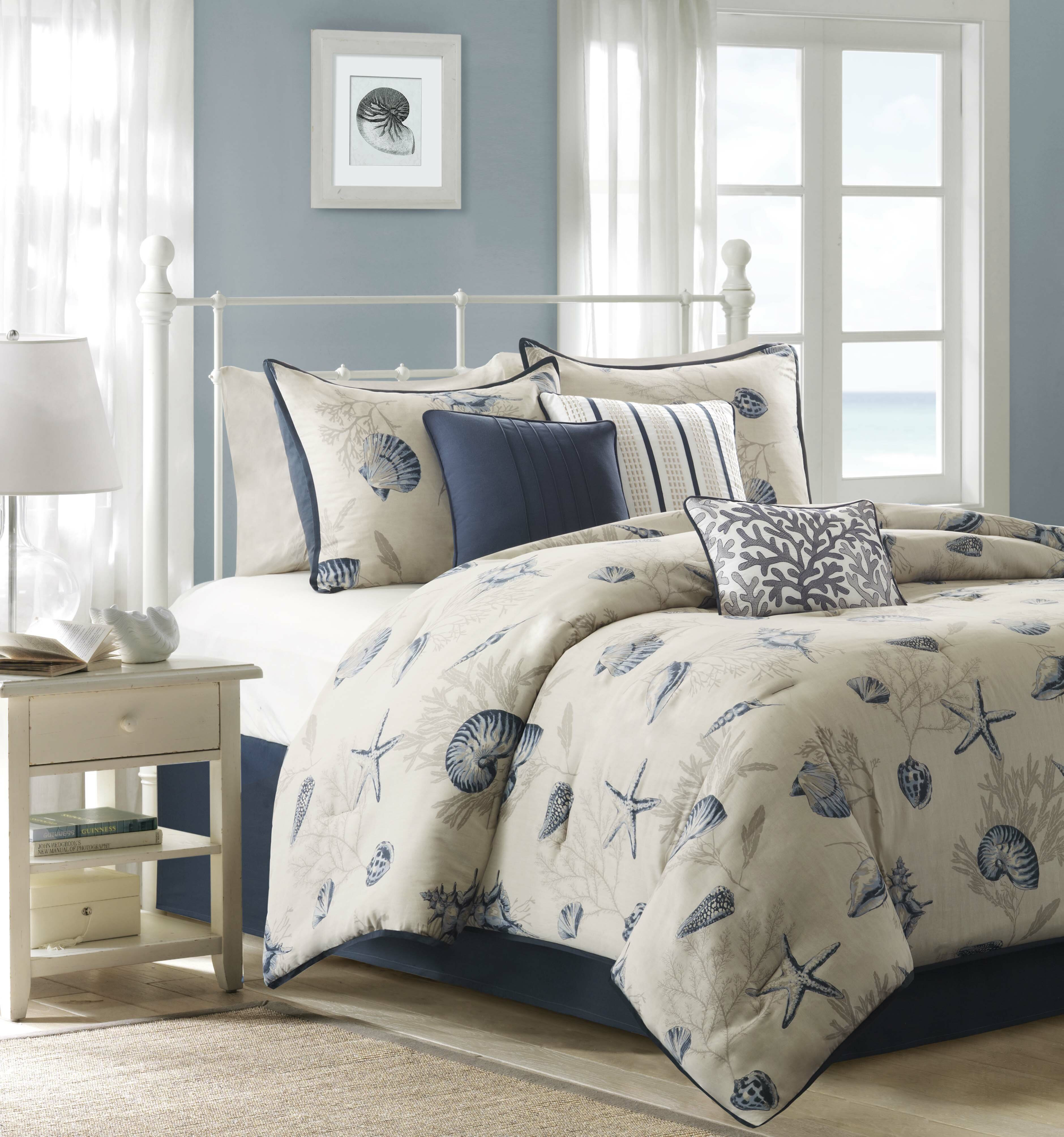 xxx coastal do sets comforter gray set christmas product stripe tree seascapes living