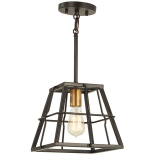 Croyle 1-Light Square/Rectangle Pendant by Williston Forge
