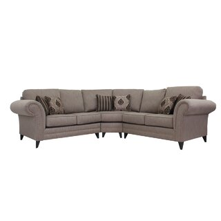 Alberts Symmetrical Symmetrical Sectional by Canora Grey SKU:AB884214 Guide