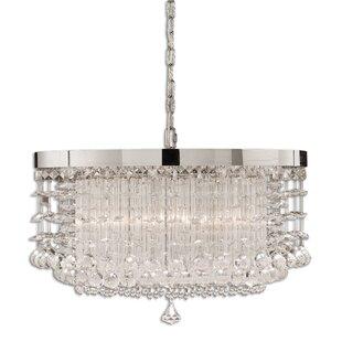 Uttermost Fascination 3-Light Crystal Chandelier
