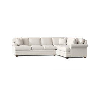 Kaila Corner Sectional by Wayfair Custom Upholstery