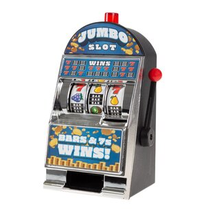 Jumbo Slot Machine Coin Bank by Trademark Games