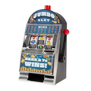 Jumbo Slot Machine Coin Bank by Trademark Games
