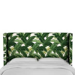 Garrett Upholstered Wingback Headboard by Bay Isle Home Savings