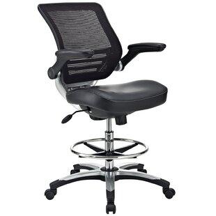 Bonnie Mesh Drafting Chair by Latitude Run