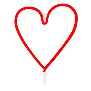 120 Red Vegas Heart Rope Light By Markslojd