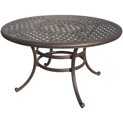 Mckinney Metal Dining Table by Astoria Grand #1