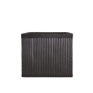 Best Price Vintage Ribbed Faux Lead Planter Box