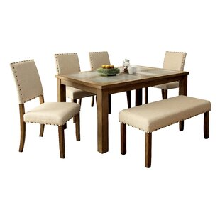 Crafton 6 Piece Dining Set Alcott Hill