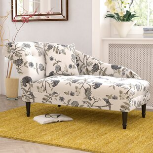 Big Save Triplehorn Ink Chaise Lounge by Darby Home Co Reviews (2019) & Buyer's Guide