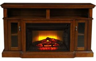 Devan TV Stand for TVs up to 61 with Electric Fireplace by Alcott Hill
