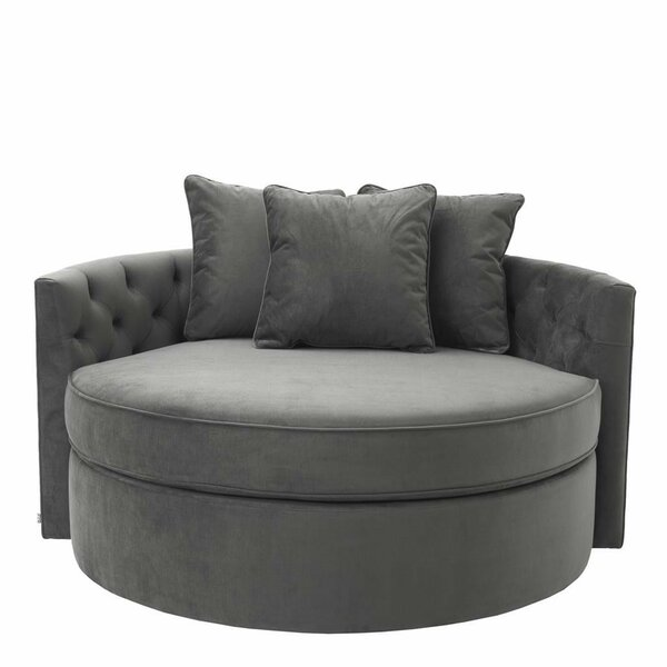 Terrific Round Loveseat Sofa Wayfair Gmtry Best Dining Table And Chair Ideas Images Gmtryco
