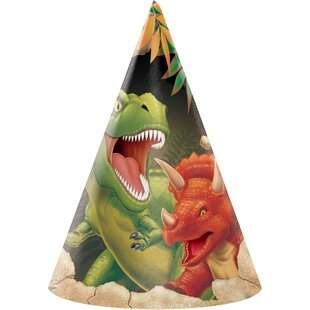 Dinosaur Hat Paper Disposable Party Favor (Set of 24)