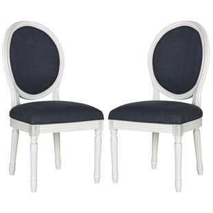Alpes Upholstered Dining Chair (Set of 2) by Lark Manor