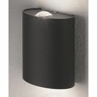 Lau LED Outdoor Flush Mount With Motion Sensor By Sol 72 Outdoor