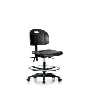 Isaiah Drafting Chair by Symple Stuff