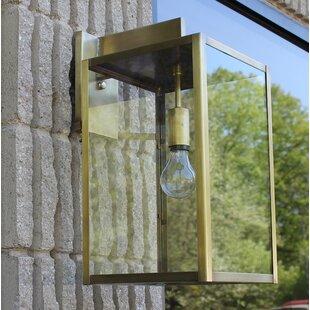 Read Reviews Escamilla 1-Light Wall Lantern By Brayden Studio