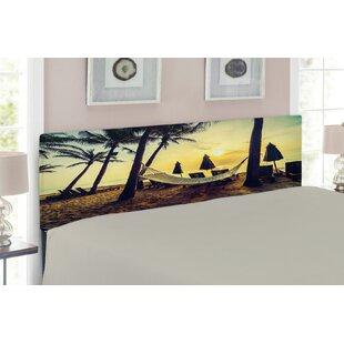 Beach Upholstered Panel Headboard