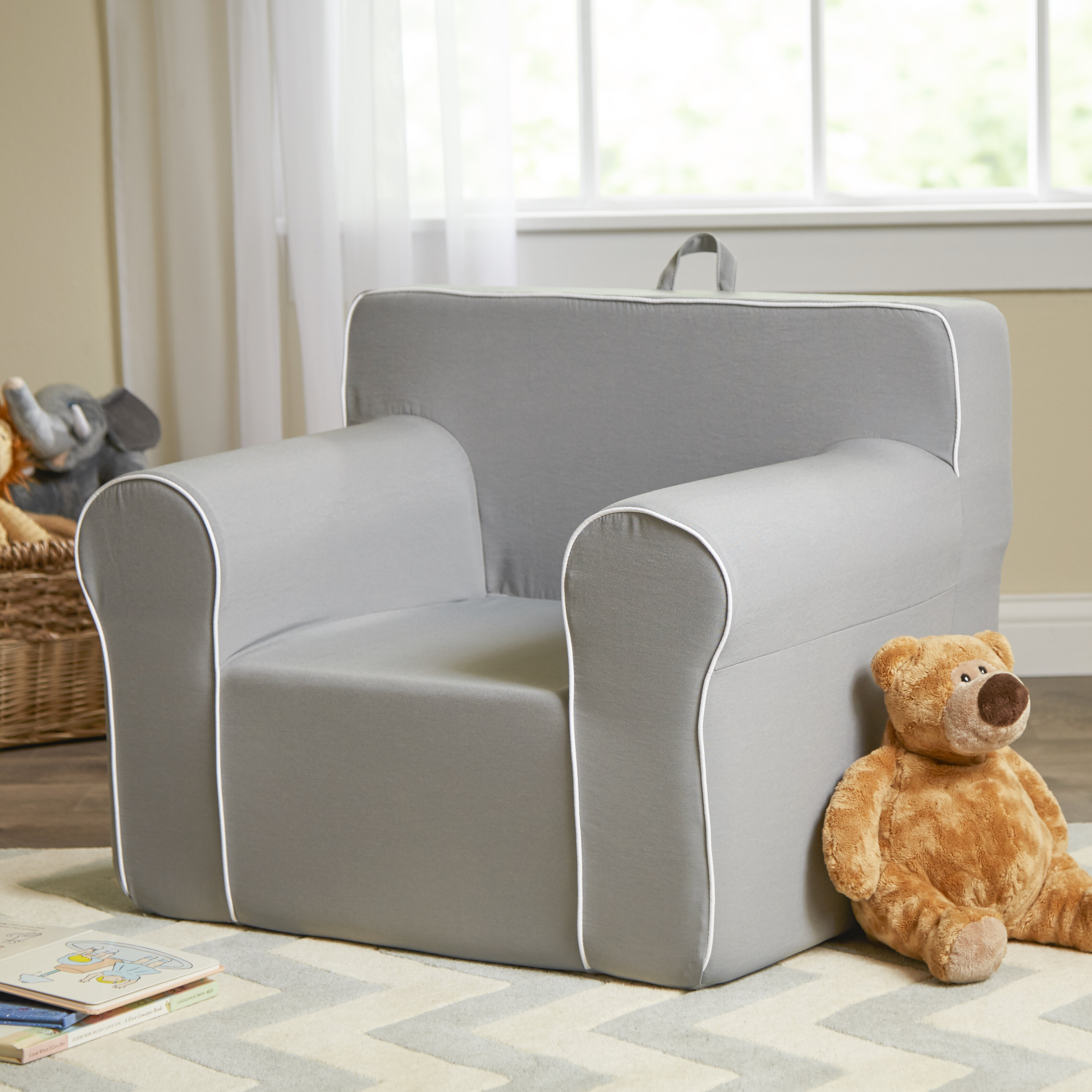 Fun Furnishings My Comfy Kids Personalized Kids Chair U0026 Reviews | Wayfair