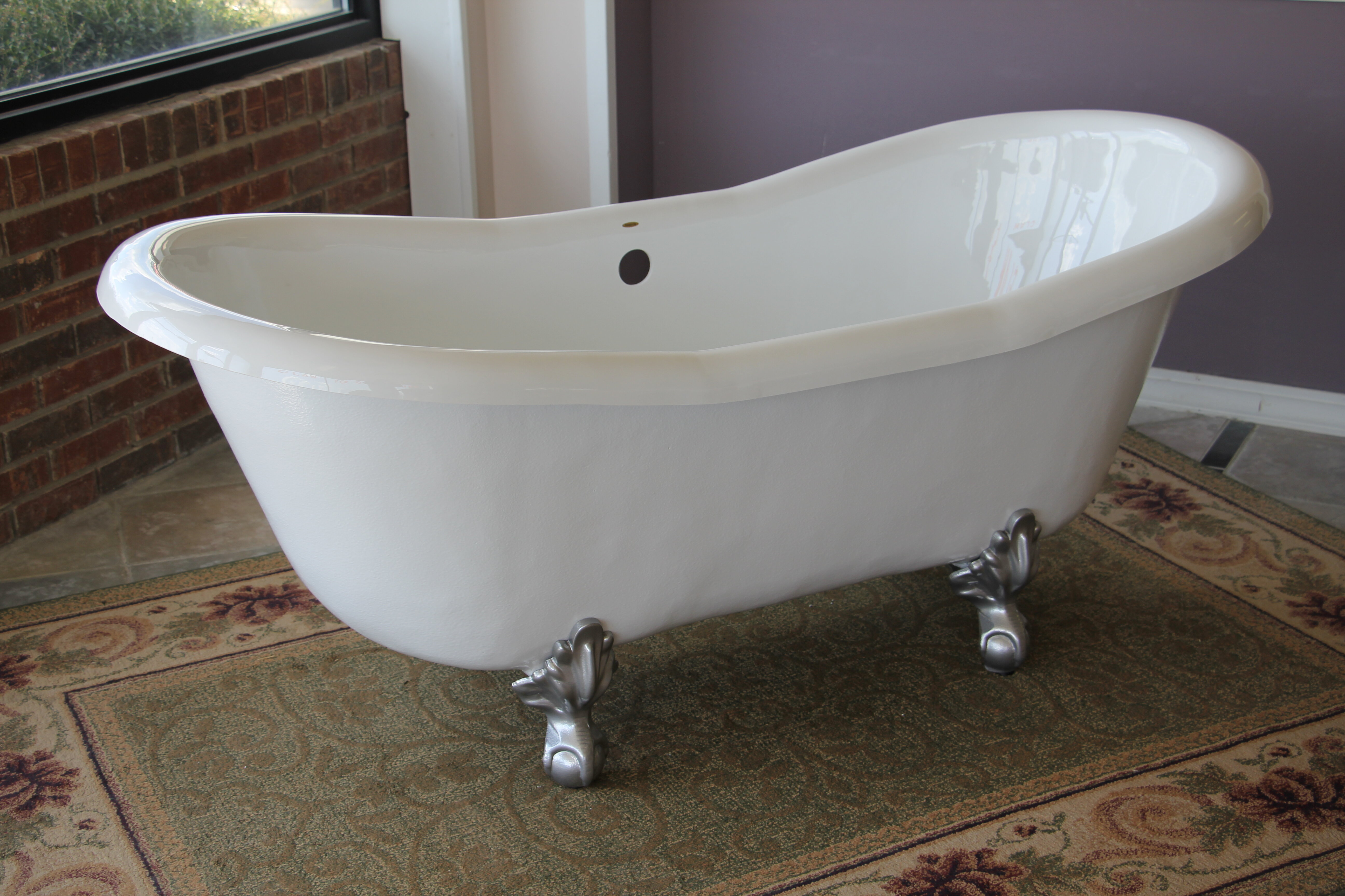 shipping overstock freestanding bathtubs in home today product ft anzzi white wyndham free bank bathtub garden series