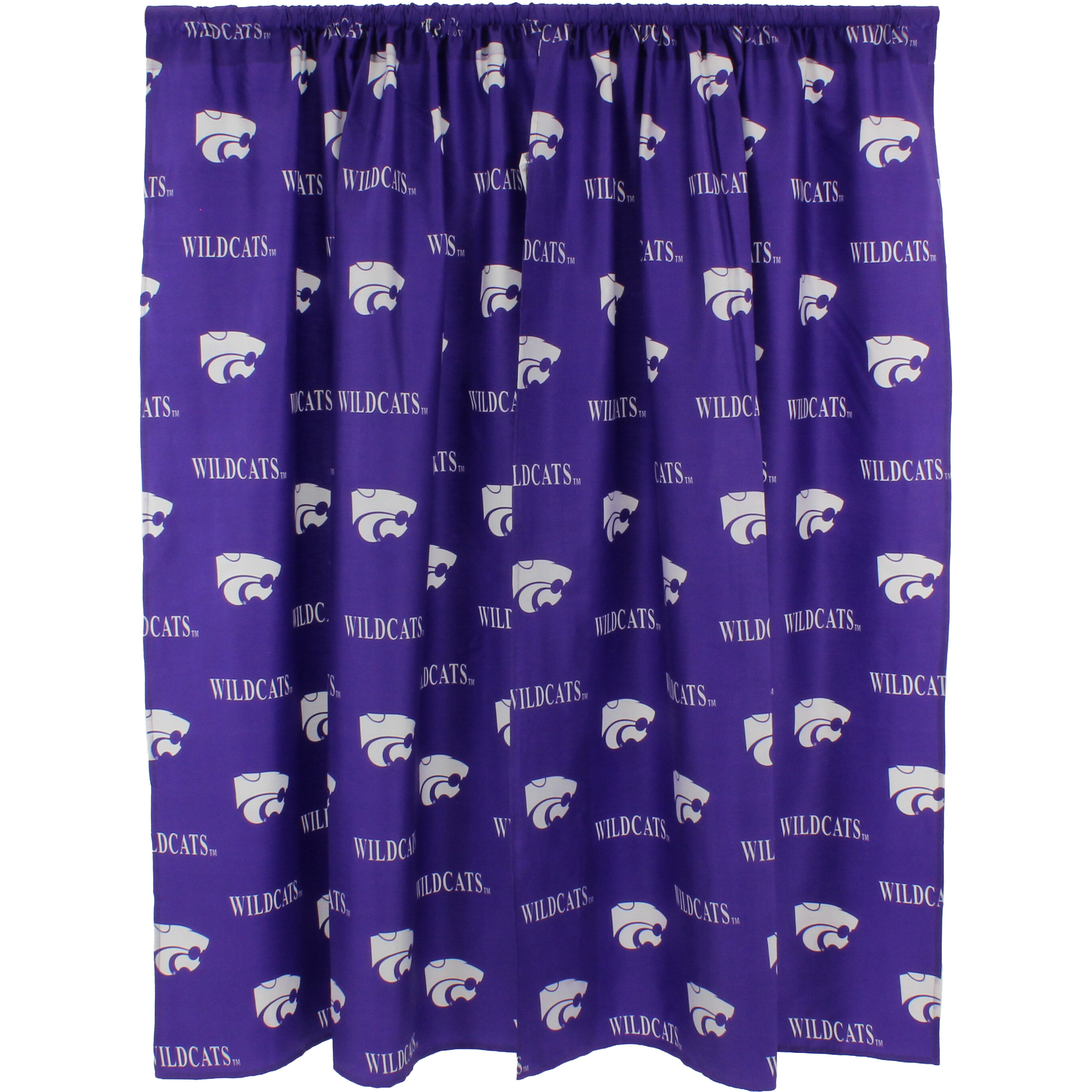 College Covers Ncaa Kansas State Printed Sports Rod Pocket Curtain Panels Reviews Wayfair