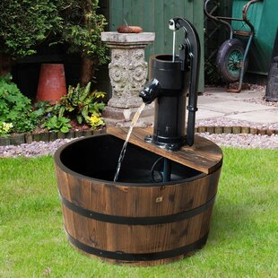 Water Pump Fountain By Alpen Home