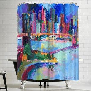 Richard Wallich Brooklyn Shower Curtain by East Urban Home
