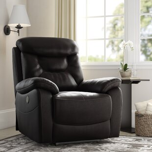 Leather Power Recliners You Ll Love Wayfair