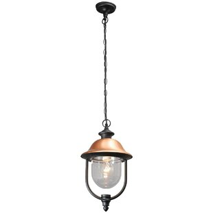 Edwin 1 Light Outdoor Pendant By ClassicLiving