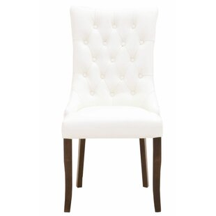 Branch Upholstered Dining Chair Set of 2 by One Allium Way