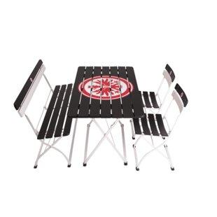 Eintracht Frankfurt 4 Seater Dining Set By Timberson