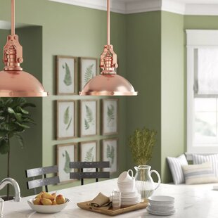 Birch Lane? Heritage Ferrao 1-Light Bowl Pendant