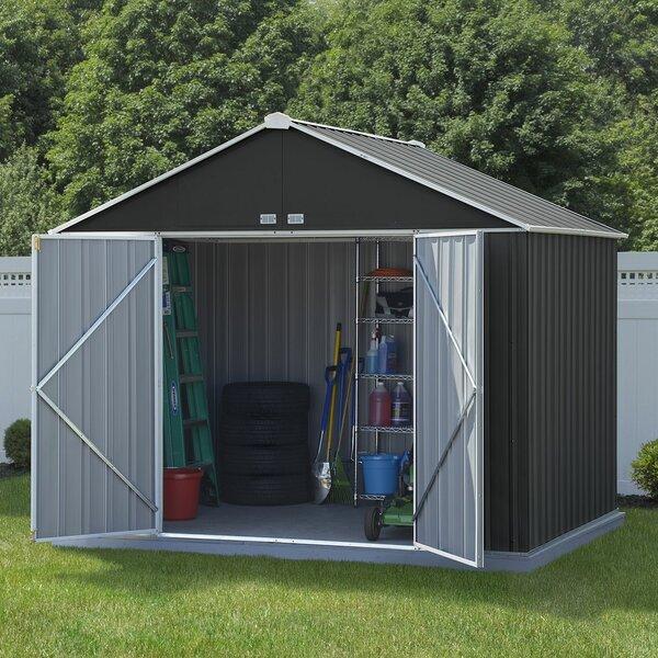 D Metal Storage Shed Reviews Wayfair