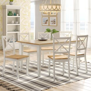 Lafayette 7 Piece Dining Set by Beachcrest Home