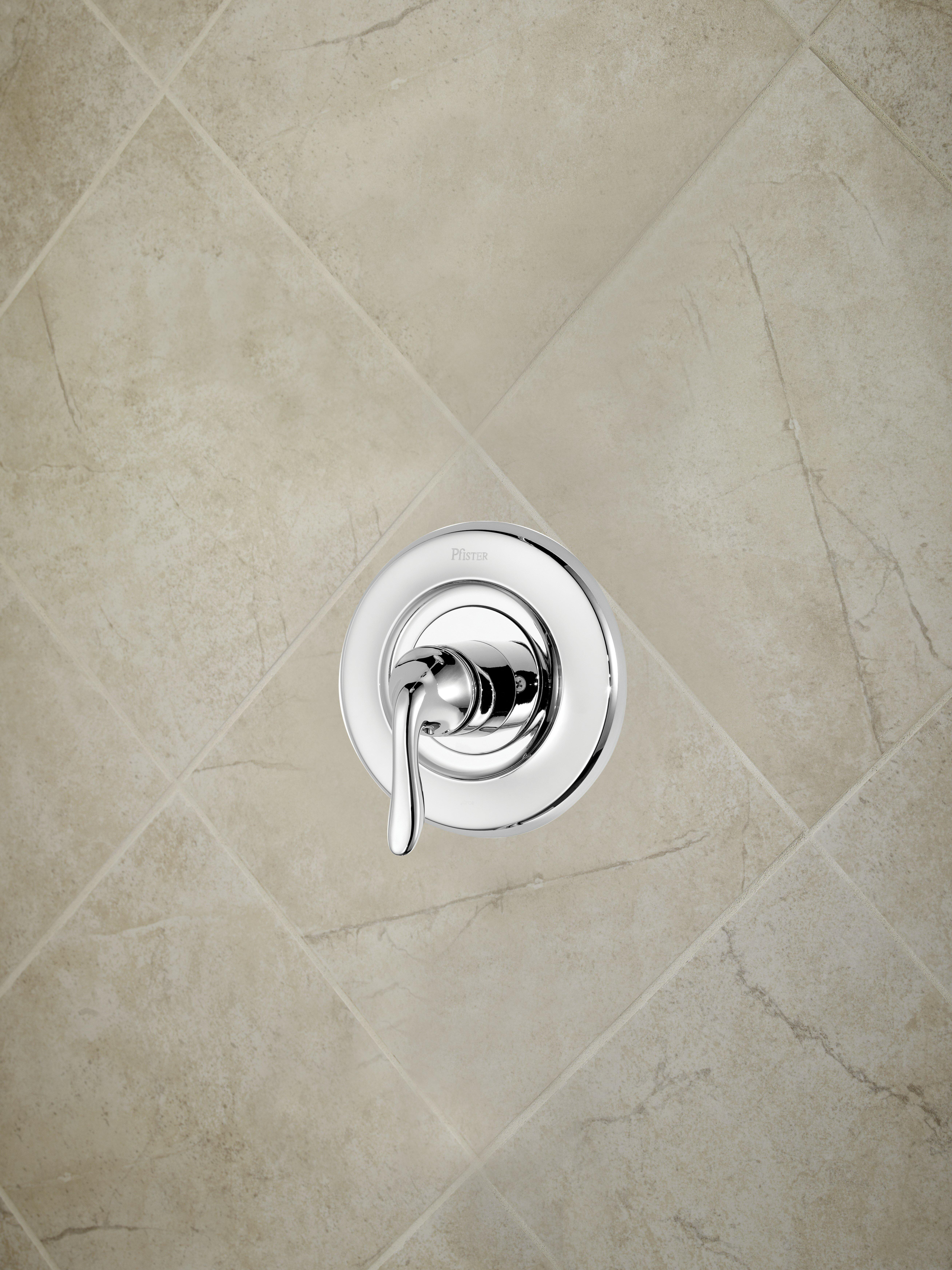 Pfister Universal Trim Single Handle Tub & Shower Valve Only Trim ...