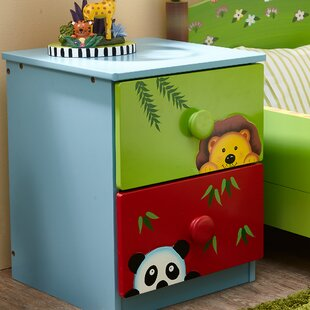 Reviews Sunny Safari 2 Drawer Nightstand by Fantasy Fields Reviews (2019) & Buyer's Guide