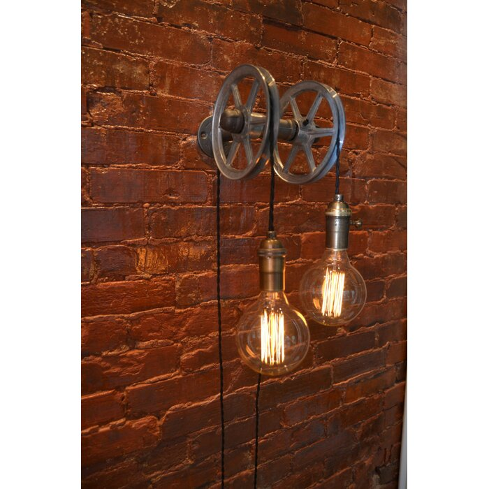 Shania 2 Light Wall Pulley