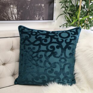 Jalyn Velvet Throw Pillow