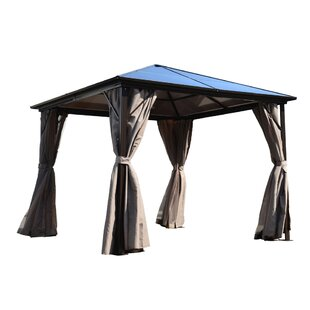 10 Ft. W x 10 Ft. D Aluminum Patio Gazebo by ALEKO