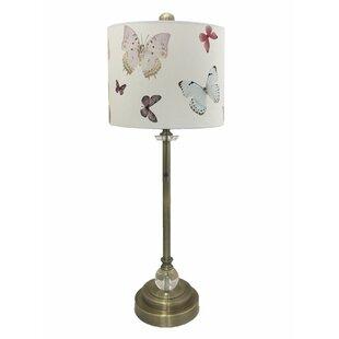 Keough Crystal 28 Buffet Lamp
