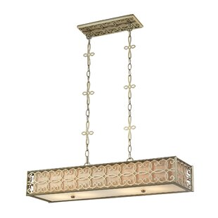 Alcott Hill Haugen 4-Light Kitchen Island Pendant
